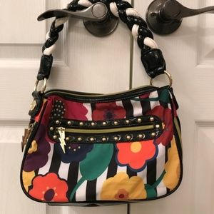 Betsey Johnson Betseyville Colorful Floral Bag*